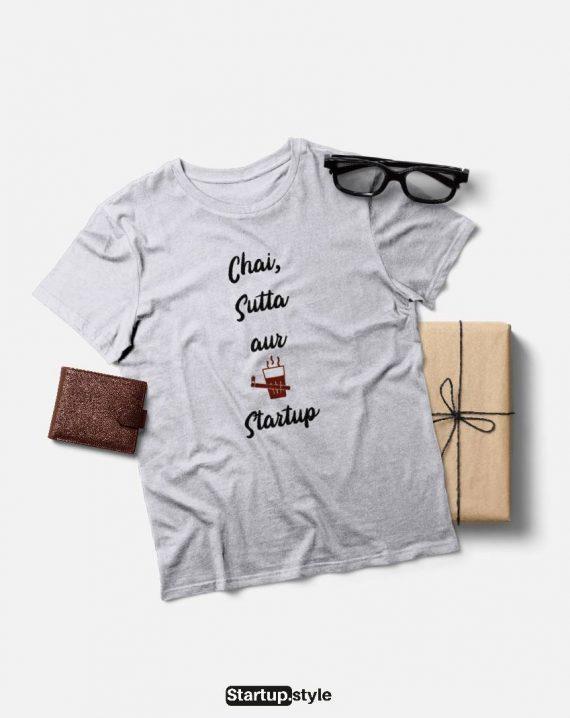 Chai Sutta Aur Startup T-shirt