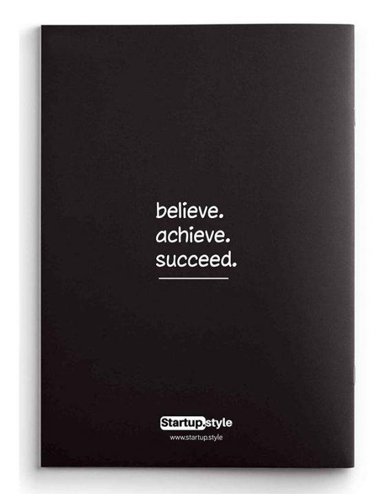 Notebook Black back