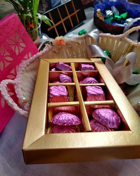 Premium Handmade Chocolates Startup Delights
