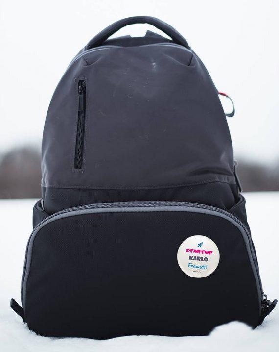 Startup Karlo Frands Pin Badges