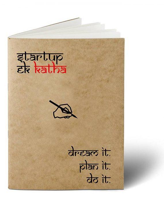 Startup Ek Katha Notebook