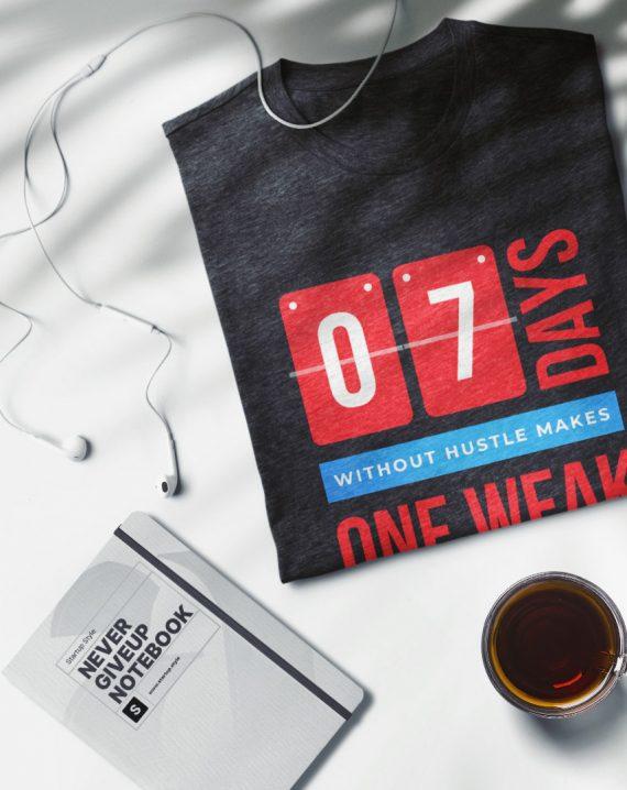 Hustle seven days t-shirt