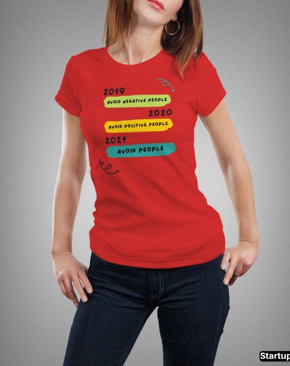Anti Covid Virus T-shirt
