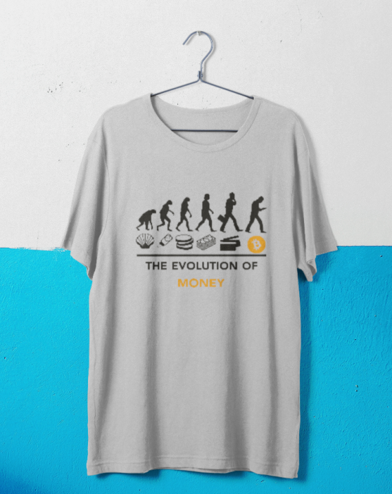 Evolution of Money T-shirt